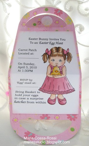 Easter Purse Invite Inside