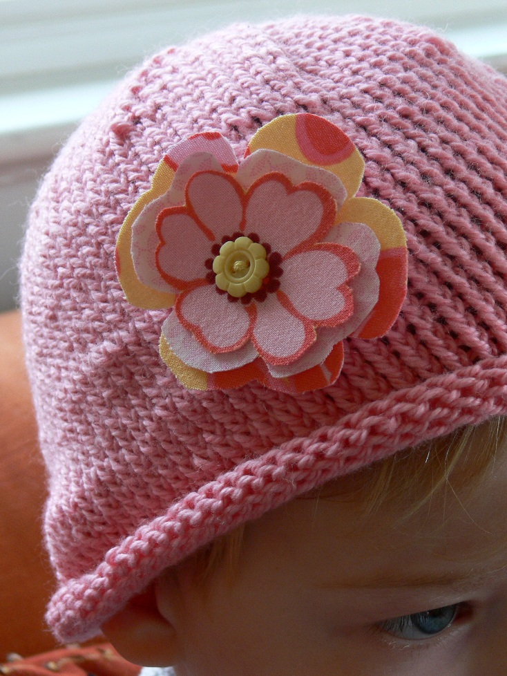 Jenny: Flower Hat