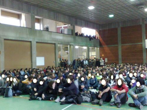 LA PROTESTA DEGLI STUDENTI DEL NATTA
