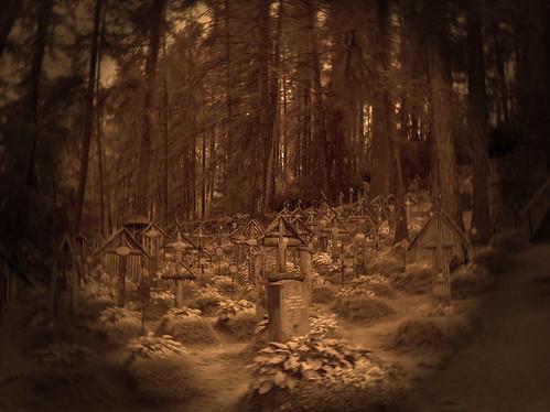 Il cimitero di guerra a Brunico