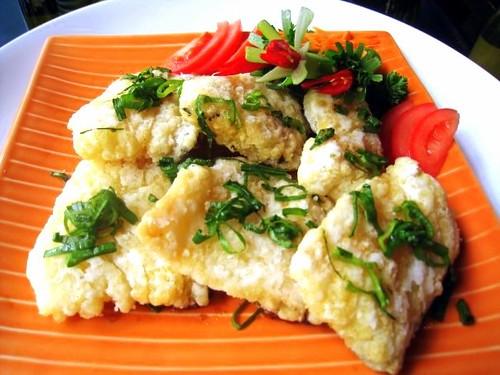 Little Asia Restaurant's Crispy Codfish