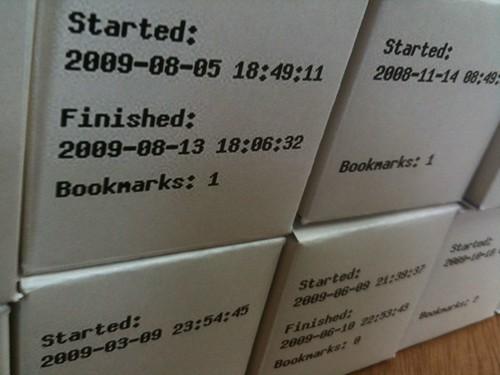 Bookcubes
