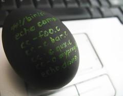 eggshell script
