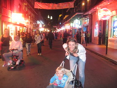 First Impressions of French Quarter New Orleans - Bourbon Street French Quarter New Orleans