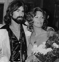 Peter Wolf and Faye Dunaway