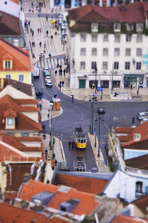 Lisbona tilt shift