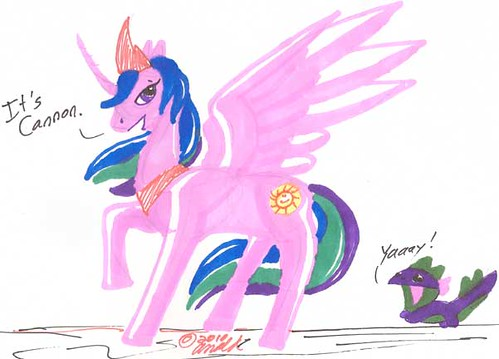 Marker My Little Pony