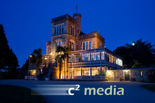Larnach Castle by night