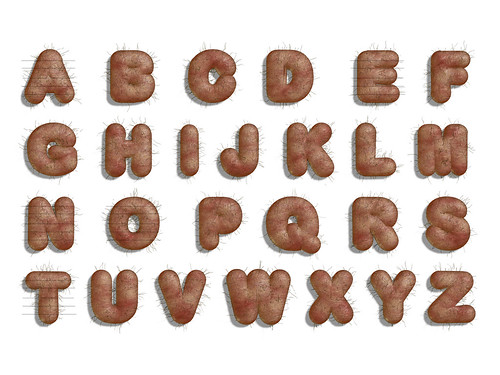 the testicle typeface