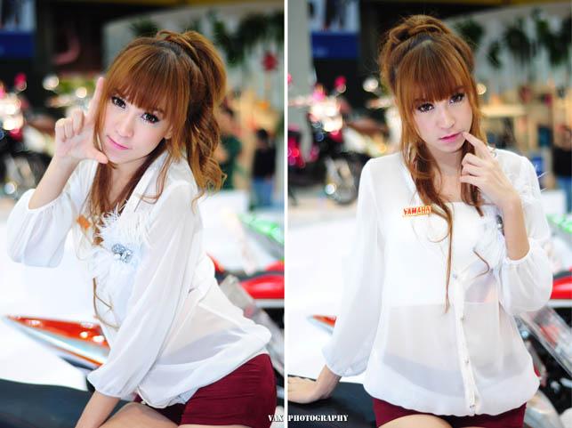 Bangkok Motor show girls 11