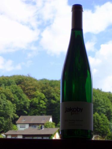 Jakoby pur 2007 Riesling Kabinett trocken Kinheimer Hubertuslay 001