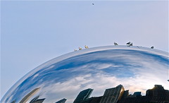 gotham city reaching up (Asli Photography) Tags: city chicago color gotham