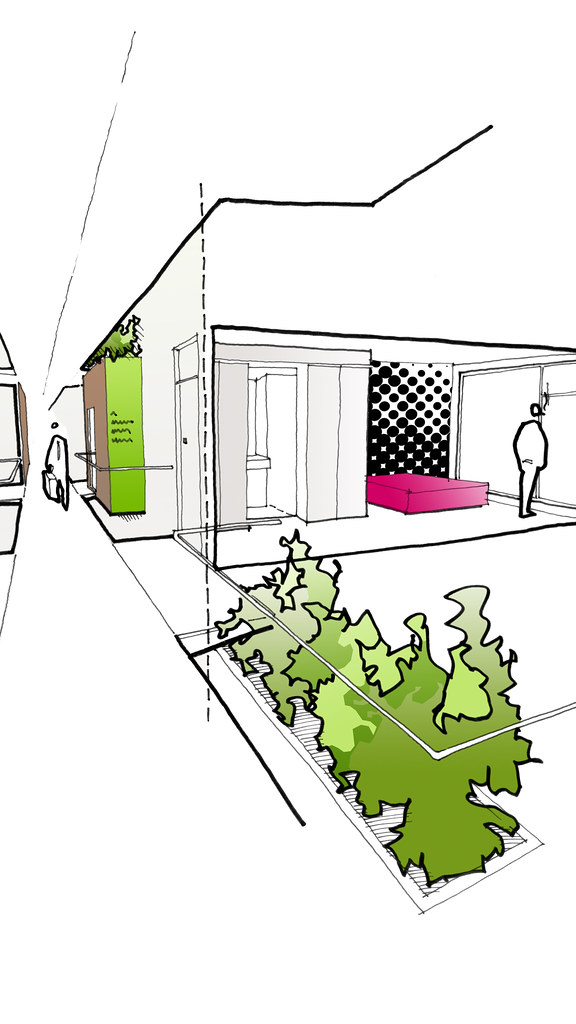 Modular Hotel room and corridor concepts (ESA)