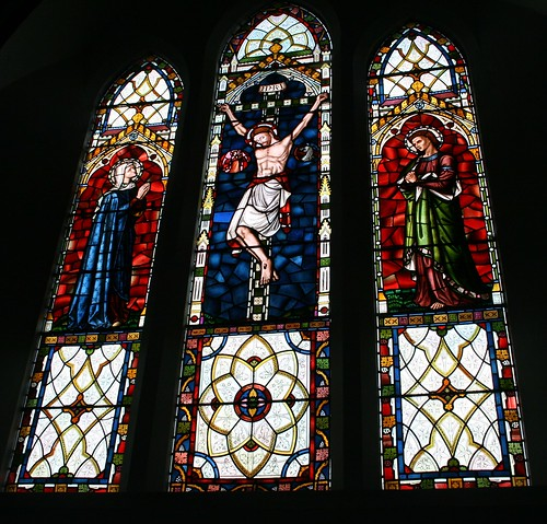 Stained Glass Window - St Mary, West Malling, Kent