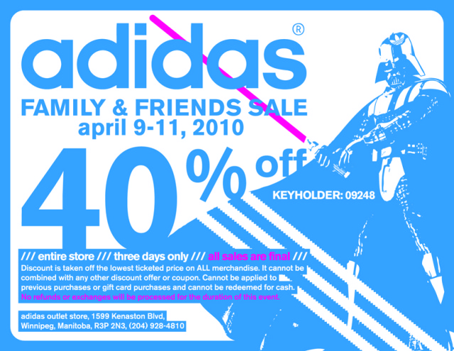 490b146c3bacc7 40% OFF Entire Store   Adidas Outlet Store - Access Winnipeg