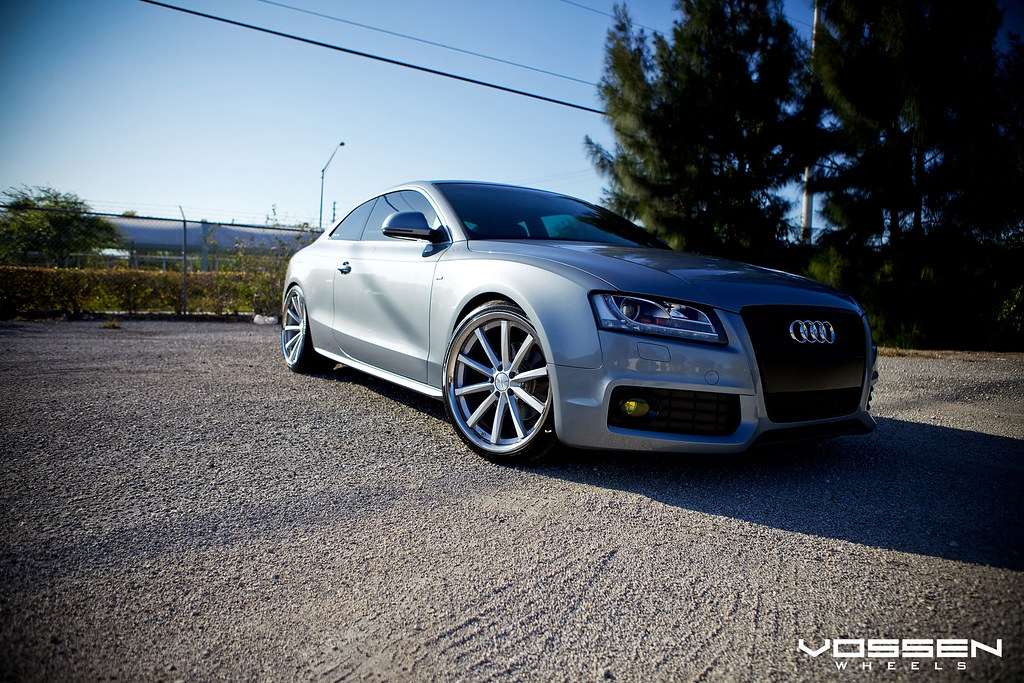 VOSSEN CONCAVE SHOOT// Audi A5 lowered on Vossen VVSCV1