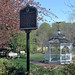Gazebo in Mamie Davis Town Park, Occoquan, Virginia