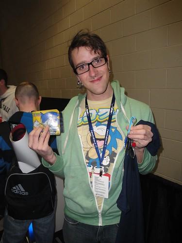 PAX East - Sonic Fan!