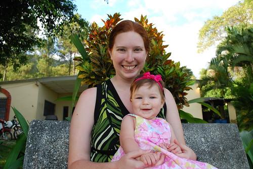 Mommy and Savannah