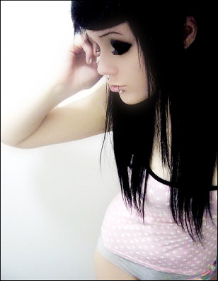 scene girl