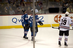 IMG_0442 (RLEVANS) Tags: hockey nhl colorado denver 2010 denvercolorado pepsicenter avalanche coloradoavalanche