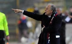 Franco Colomba durante la gara Bologna - Lazio