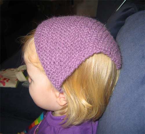 Knitted kerchief
