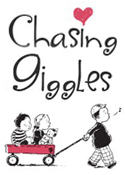 Chasing-Giggles design button