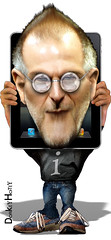 Steve Jobs (DonkeyHotey) Tags: art apple photomanipulation photoshop photo political politics cartoon manipulation ceo caricature stevejobs karikatur caricatura commentary 漫画 politicalart ipad karikatuur politicalcommentary карикатура קריקטורה donkeyhotey कारटूनवाला
