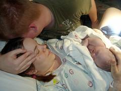 DSC00579 (hurgrace) Tags: people baby child father birth mother rusty couples kansascity kansas zelda cry digitalphoto deliveryroom digitalcapture heritage2011