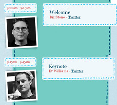 Twitter's Chirp Conference Agenda