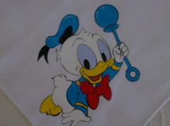 Fraldinha Donald baby