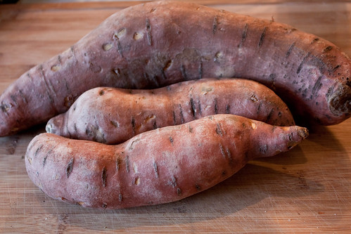 huge sweet potato
