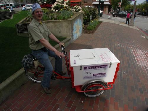 Jeff's Ice Cream: People Powered Ice Cream Truck
