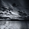 Monodramatic (Scott Howse) Tags: sunset england sky water clouds bristol somerset reservoir lee filters graduated chewvalleylake 09h