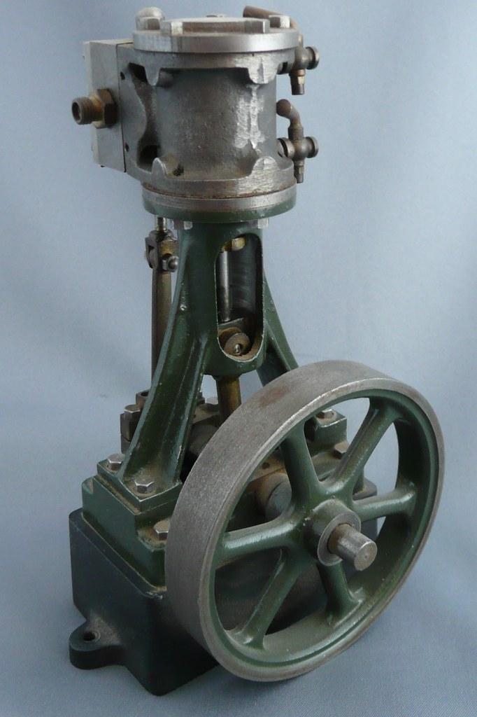 Old Stuart Turner Steam Engine Paperweight