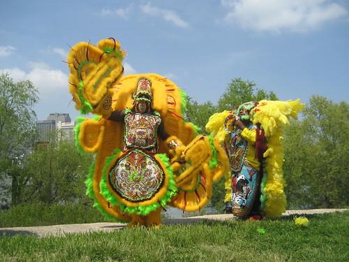 Algiers Fest Levee Indians