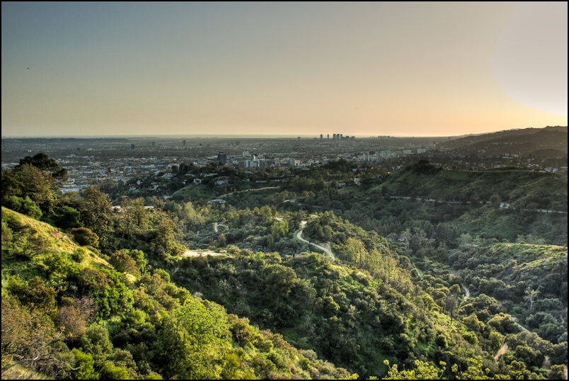 Lookout From Griffith Park