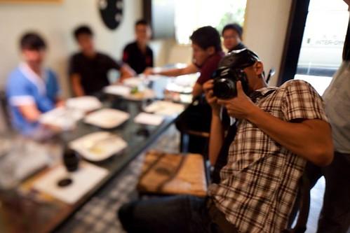 Mu Yao with Camera by J-Chan