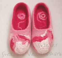 IMGP7407 (svieter) Tags: wool felting handmade felt slippers