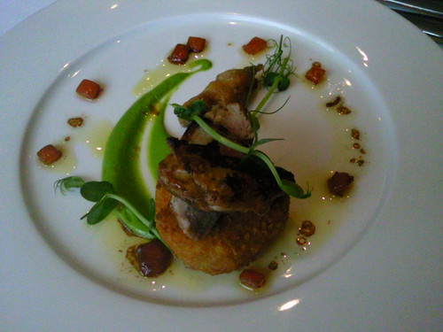 Quail starter at @cityinnhotels