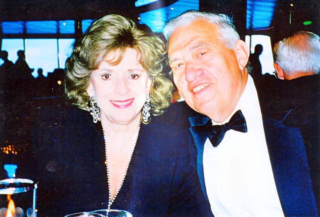 Ina and Arnie, January 2000