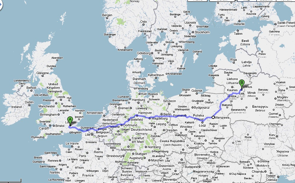 Europe Six Countries 2100km Of Roads 300 Photos