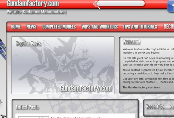 Announcing the launch of Gundamfactory.com!