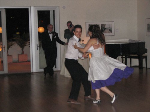 Ely and chris dancing 2