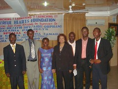 "Section of the Team after the HIV/AIDS project Launch • <a style=""font-size:0.8em;"" href=""http://www.flickr.com/photos/48668870@N02/4548766738/"" target=""_blank"">View on Flickr</a>"