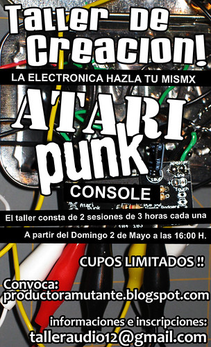 Taller creacion Atari Punk Console