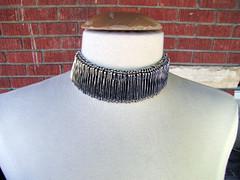 safety pin choker or bracelet