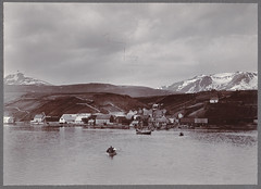 Akureyri from the fjord.