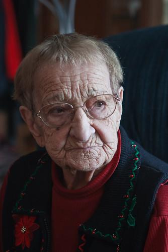 Contemplative Granny
